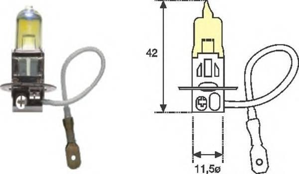Параметры светодиодных ламп для дхо птф ближнего дальнего