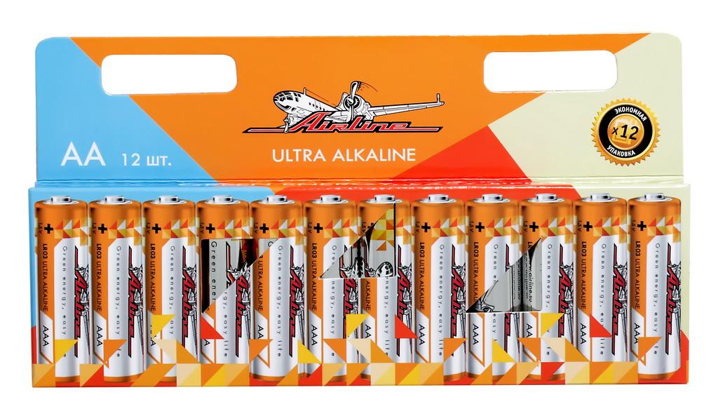 Батарейки AIRLINE AA12