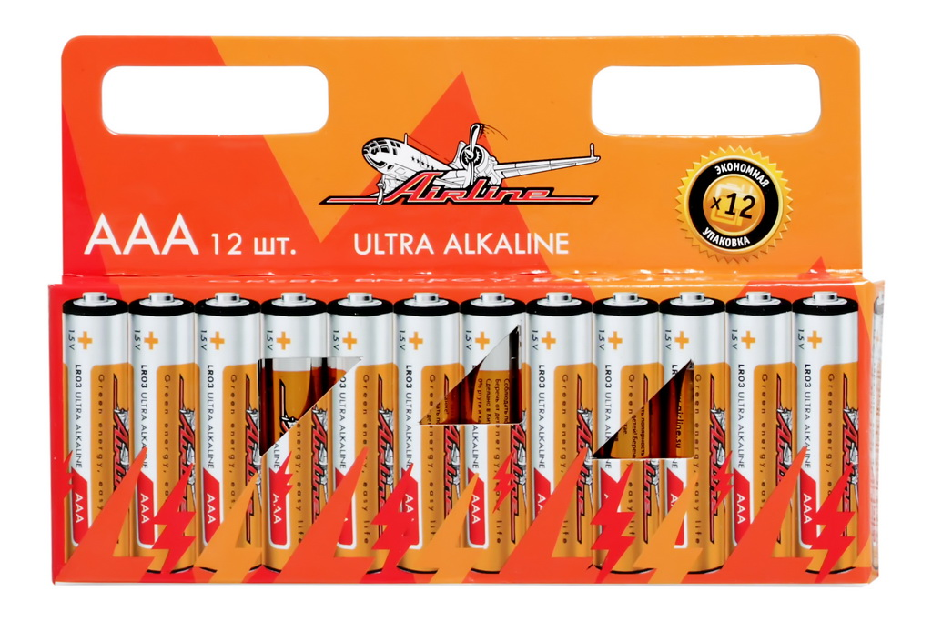 Батарейки AIRLINE AAA12