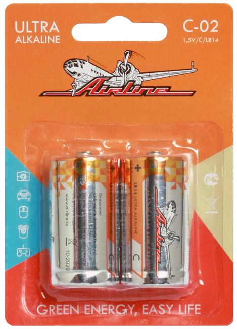 Батарейки AIRLINE C02