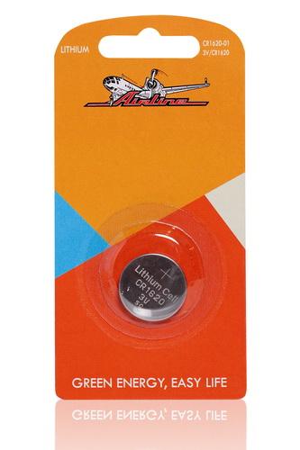 Батарейка AIRLINE CR162001