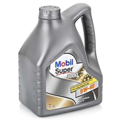 Mobil super 3000 X1 5W40 4 л (152061 / 152566)