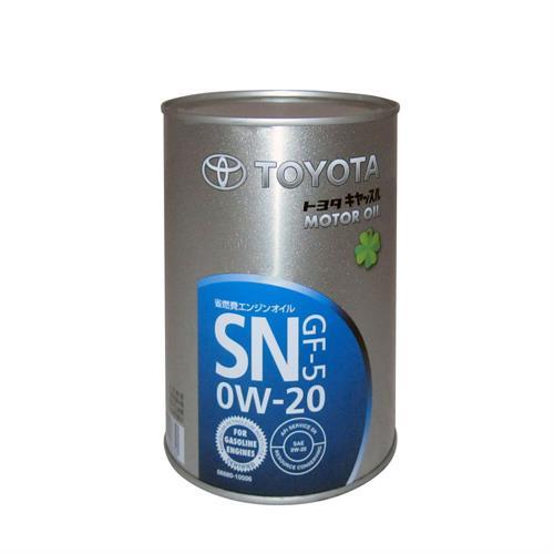 TOYOTA Motor Oil GF-5 SN SAE 0W20 1 л