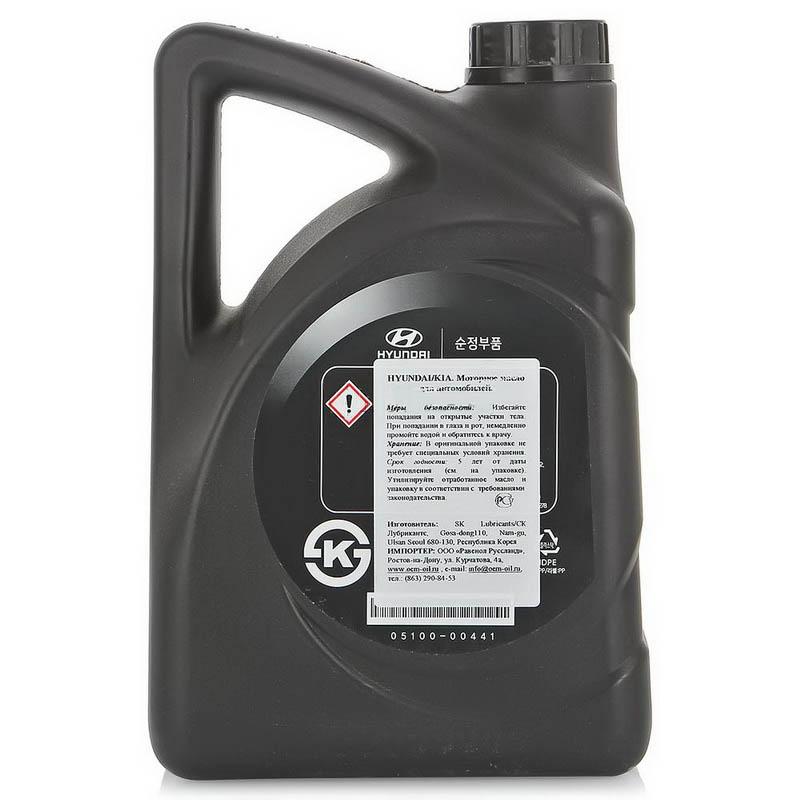 hyundai масло 05100-00441