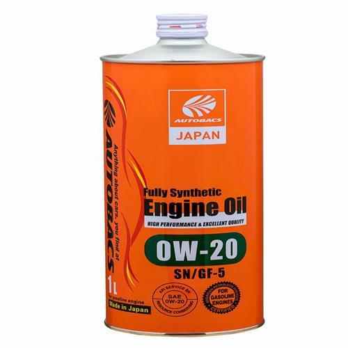 AUTOBACS Engine Oil SAE 0W20 API SN 1л