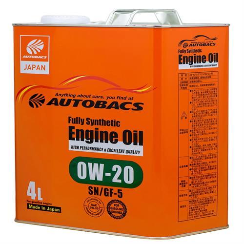 AUTOBACS Engine Oil SAE 0W20 API SN 4л