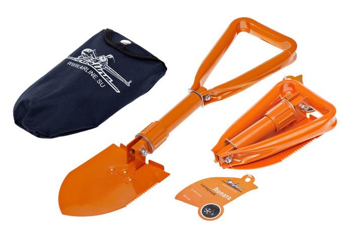 AIRLINE Лопата складная 60см (ABS03)
