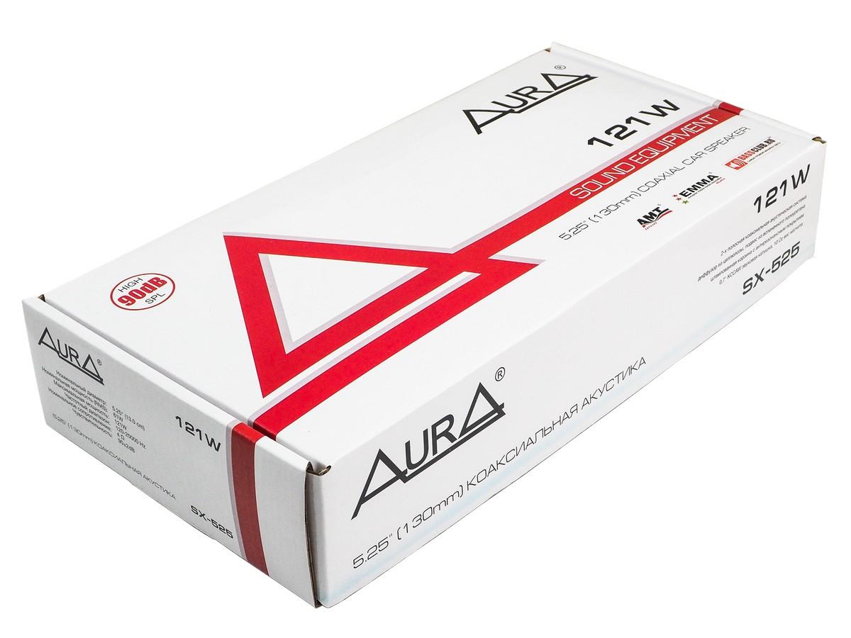 Акустика 13см 2-х полосная aura (sx-525) 35вт коаксиальная AURA SX525