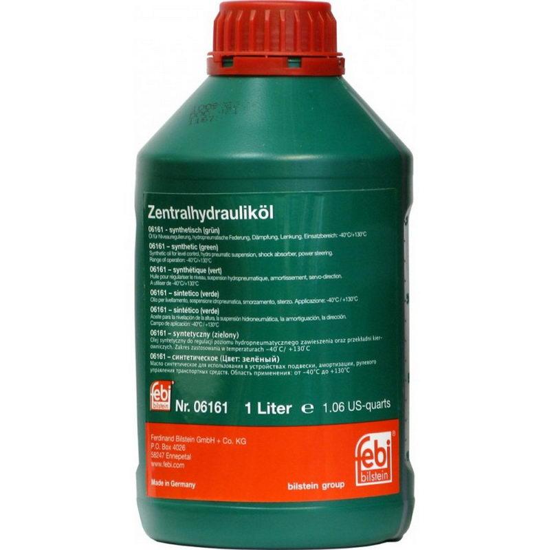 FEBI Bilstein Zentralhydraulilol 06161 Жидкость ГУР 1 л (06161) зеленая
