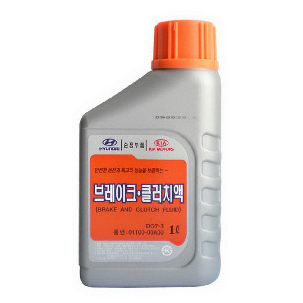 HYUNDAI DOT-3 (BRAKE AND CLUTCH FLUID) (01100-00100) 1л