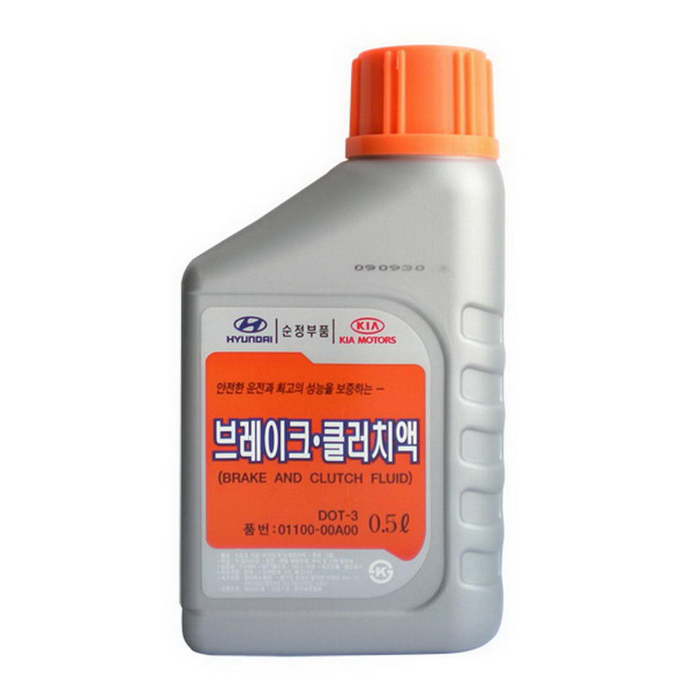 HYUNDAI DOT-3 (BRAKE AND CLUTCH FLUID) (01100-00A00) 0,5л