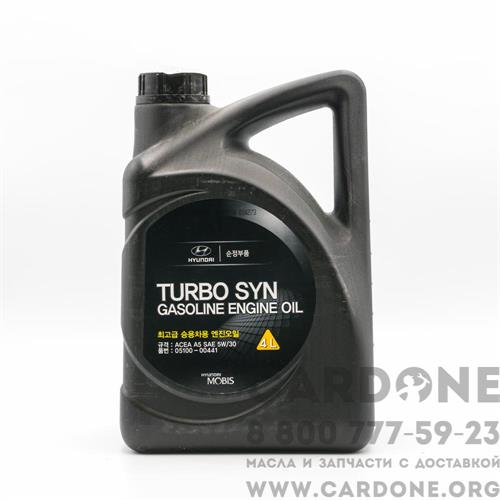 Hyundai Turbo SYN Gasoline Engine Oil SAE 5W30 4 л (05100-00441)