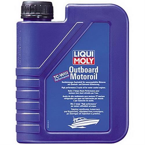 LIQUI MOLY Outboard Motoroil 1л Минеральное моторное масло для подвесных судовых двигателей