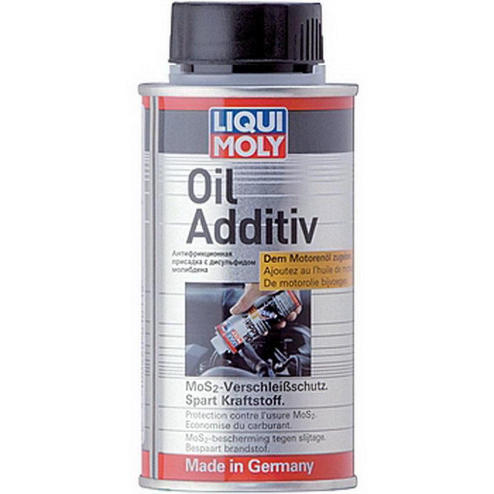 LIQUI MOLY Антифрикционная присадка с дисульфидом молибдена в моторное масло Oil Additiv 0.125 л (3901)