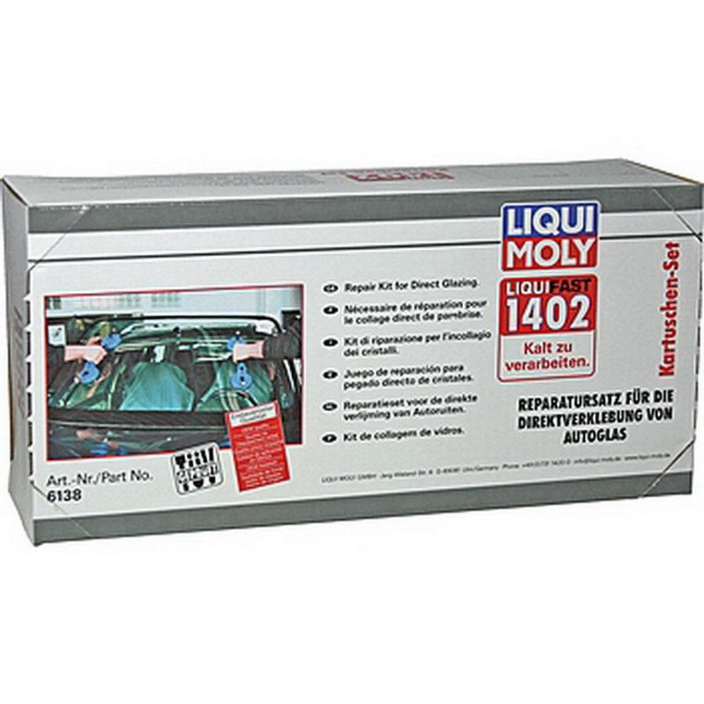 LIQUI MOLY Набор для вклейки стекол (среднемодульный) Liquifast 1402 (6138)