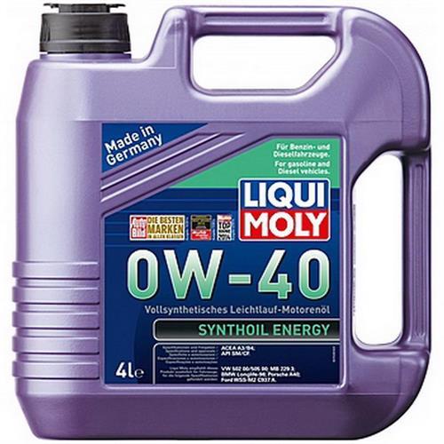 LIQUI MOLY Synthoil Energy 0W40 SM-CF-A3-B4 4л (7536)