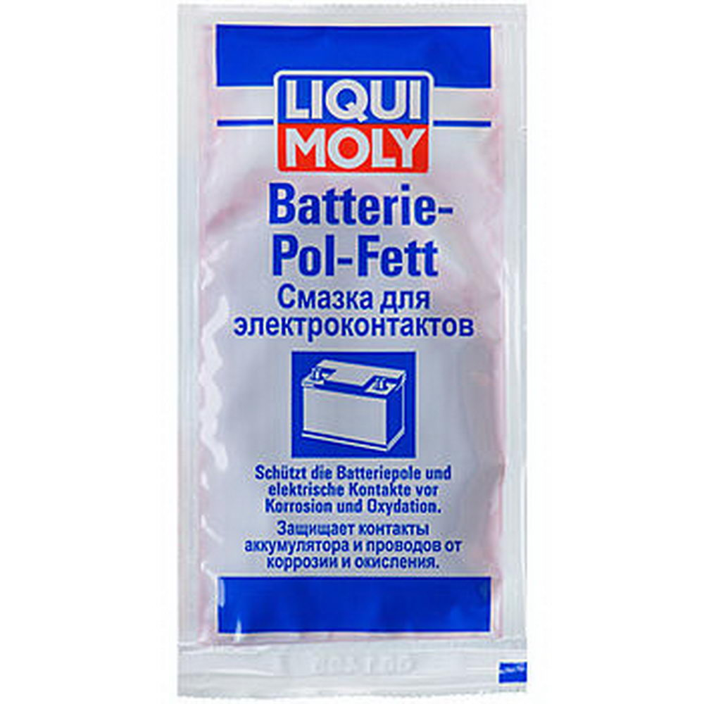 LIQUI MOLY Смазка для электроконтактов Batterie-Pol-Fett 0.010 л (8045)