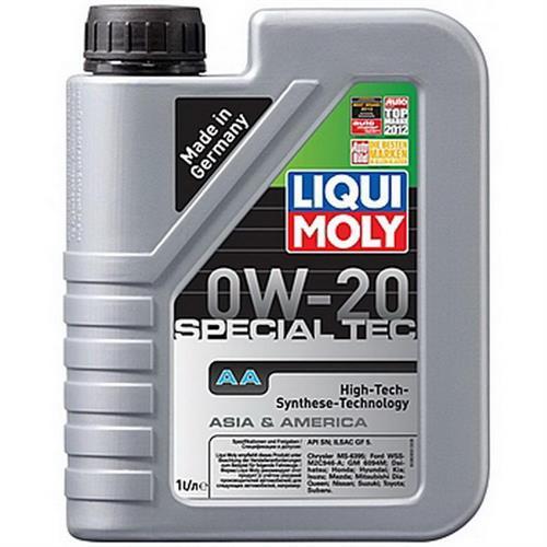 LIQUI MOLY Special Tec AA 0W20 SN 1л (8065)