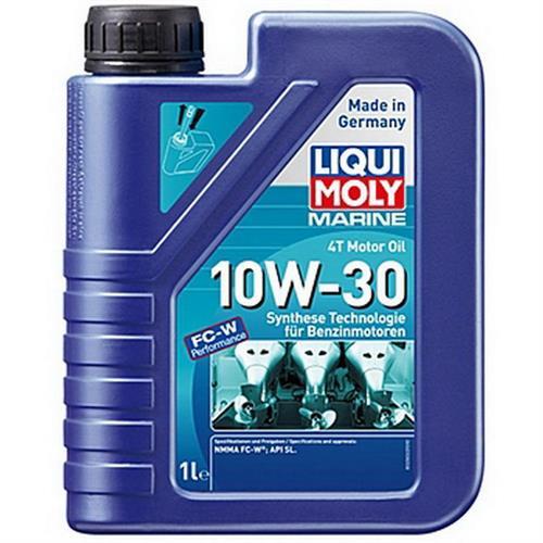 LIQUI MOLY Marine 4T Motor Oil 10W30 Моторное масло для лодок синтетическое 1л
