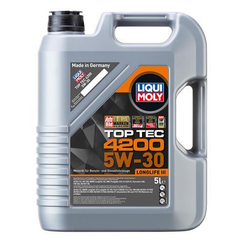 LIQUI MOLY Top Tec 4200 5W30 A3-B4-C3 5 л (7661)