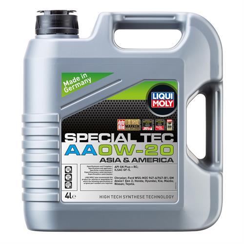 LIQUI MOLY Special Tec AA 0W20 SN 4л (8066)