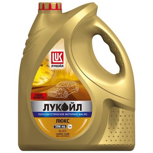 Лукойл Люкс полусинтетическое SL/CF 10W40 5 л (19299)