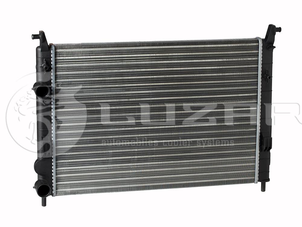 Радиатор охлаждения Fiat Albea (02-) A/C LUZAR LRC1661