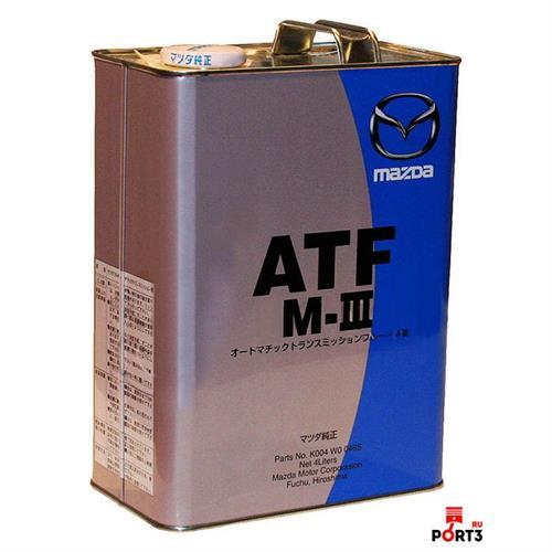 MAZDA ATF M-III (K004-W0046S) 4 л