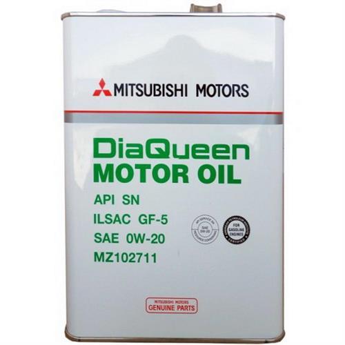 MITSUBISHIMOTOR OIL 0W20 SN/GF-5 (MZ102711) 4 л