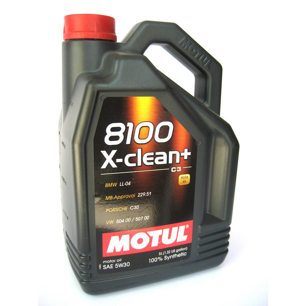 Моторное масло Motul 8100 X-clean 5W40 2л - фото 11