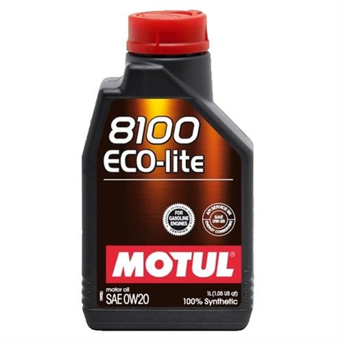 8100 eco-lite 0w-20 100% synth. 1 l (101525, 104981) MOTUL 108534. Масло в двигателе MOTUL .