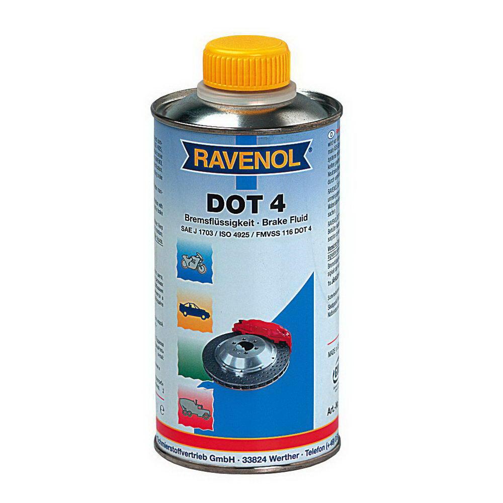 RAVENOL DOT-4 / Тормозная жидкость (0.5л) 4014835692152