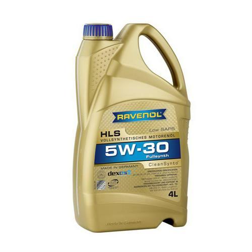 RAVENOL HLS SAE 5W30 / Моторное масло синтетическое (4л) 4014835723092