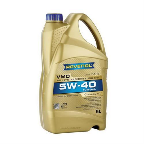 RAVENOL VMO SAE 5W40 / Моторное масло синтетическое (5л) 4014835723856