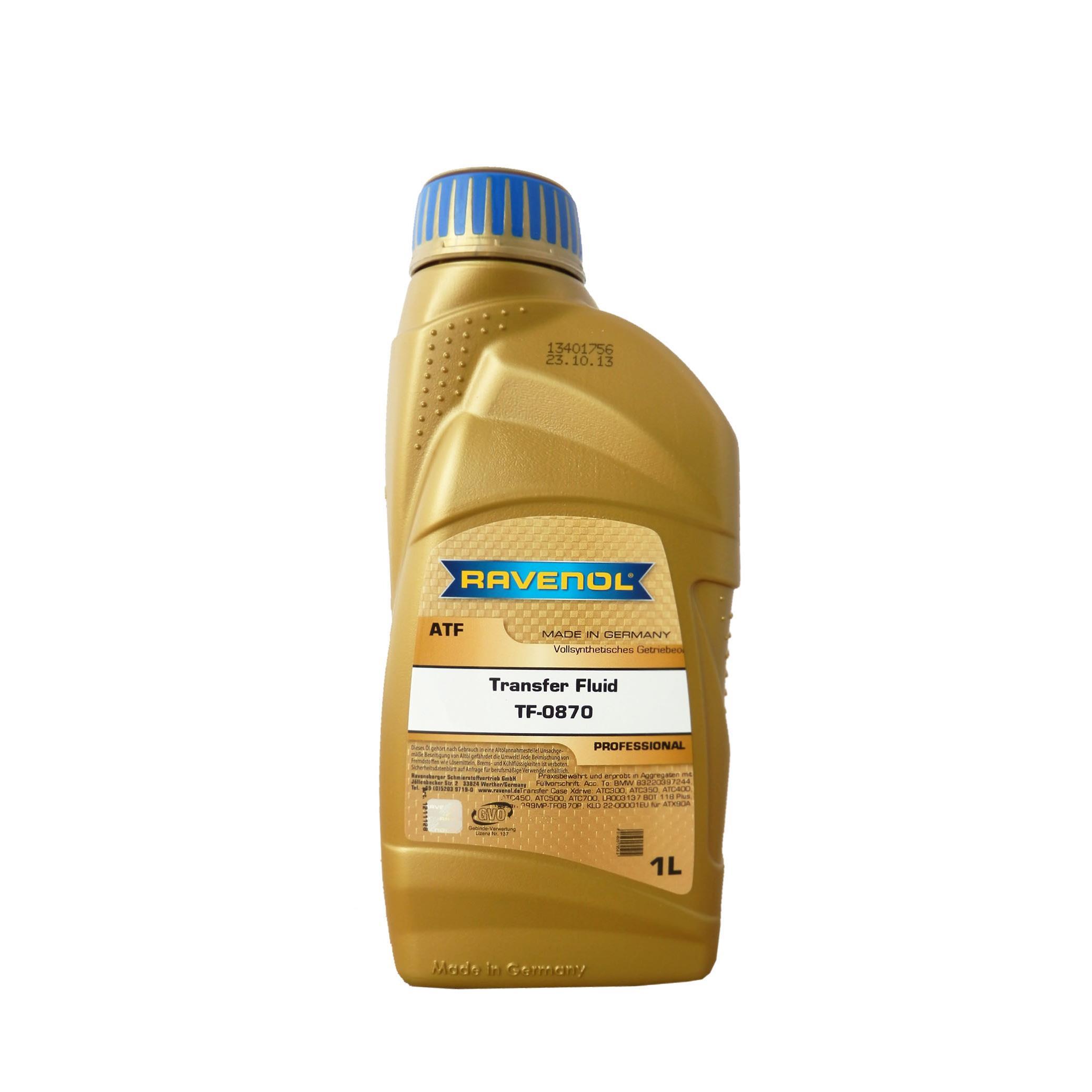 Трансмиссионное масло RAVENOL Transfer Fluid TF-0870 (1л) 4014835795419