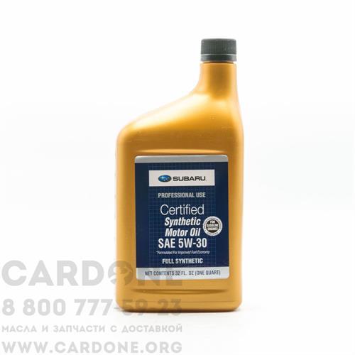 SUBARU MOTOR OIL 5w30 (SOA427V1410) 1 л