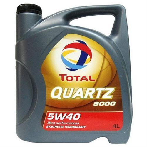TOTAL Quartz 9000 5W40 4 л (148597)