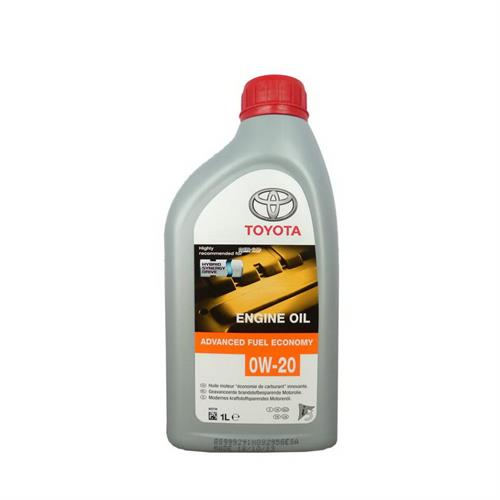 TOYOTA MOTOR OIL 0W20 SN/GF-5 (Европа) / Моторное масло синтетическое 1 л 08880-83264