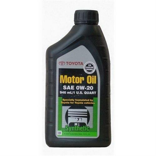 TOYOTA SAE 0W20 API SN / Моторное масло (946мл) 00279-0WQTE-SN-01