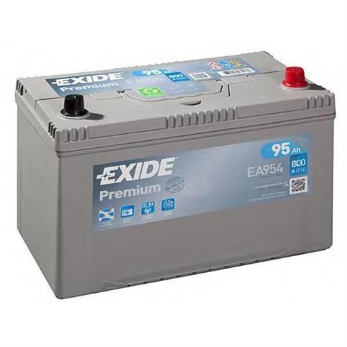 Аккумуляторная батарея 19.5/17.9 евро полярность 95Ah 800A 306/173/222 CARBON BOOST EXIDE EA954