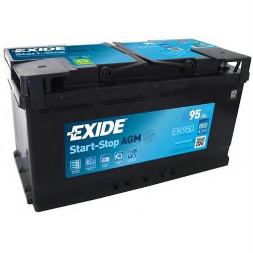 Аккумуляторы EXIDE EK950