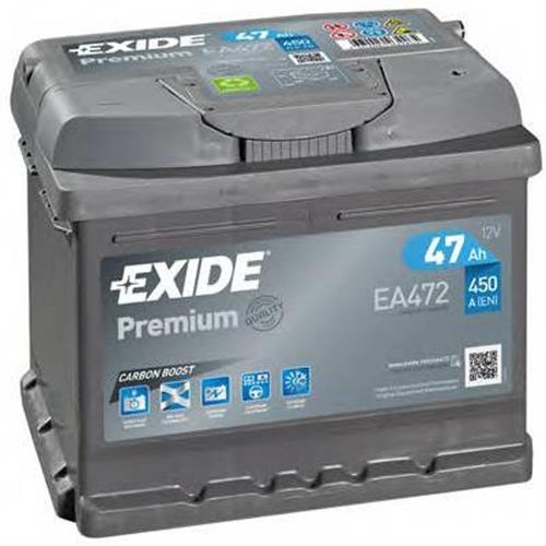 Аккумуляторы EXIDE EA472