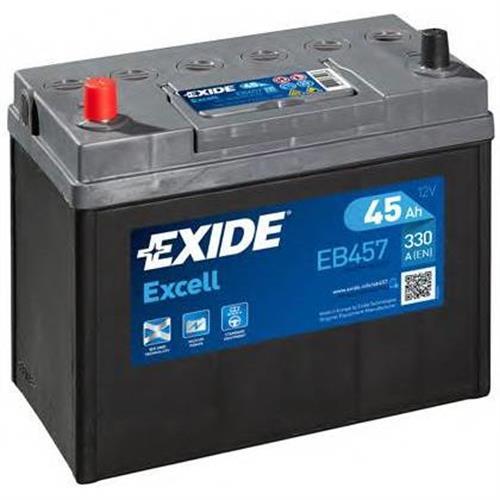 Аккумуляторная батарея 14.7/13.1 прямая полярность 45Ah 300A 234/127/220 EXIDE EB457