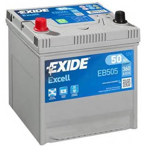 Аккумуляторы EXIDE EB505