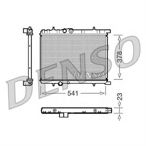 Радиатор DENSO DRM21033