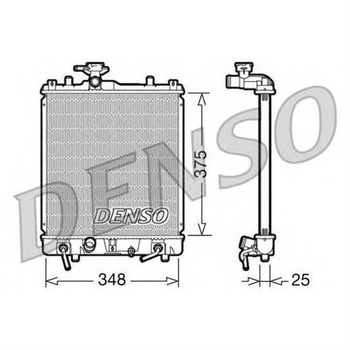 Радиатор DENSO DRM47009