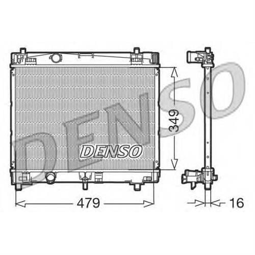 Радиатор DENSO DRM50003