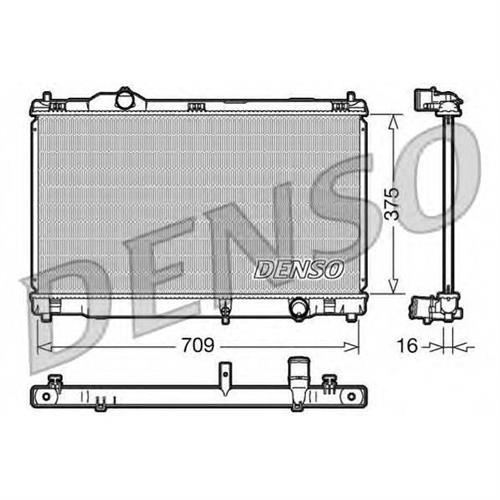 Радиатор DENSO DRM51001