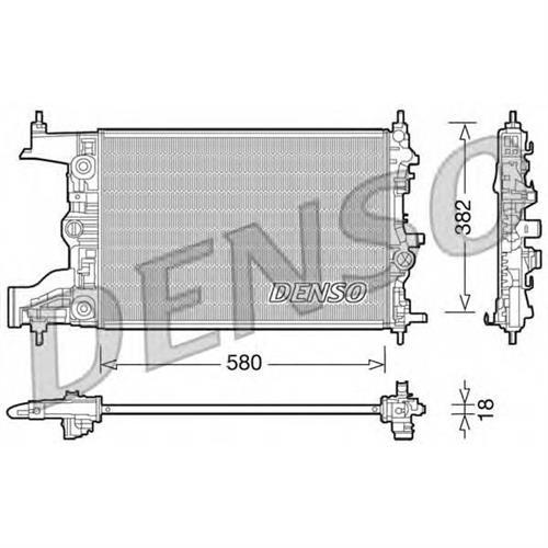 Радиатор DENSO DRM20099