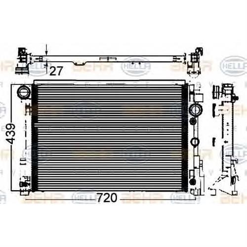 Радиатор [642x439] BEHR HELLA SERVICE 8MK376749551